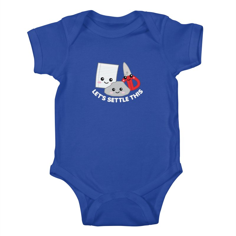 Let's Settle This Kids Baby Bodysuit by Detour Shirt's Artist Shop