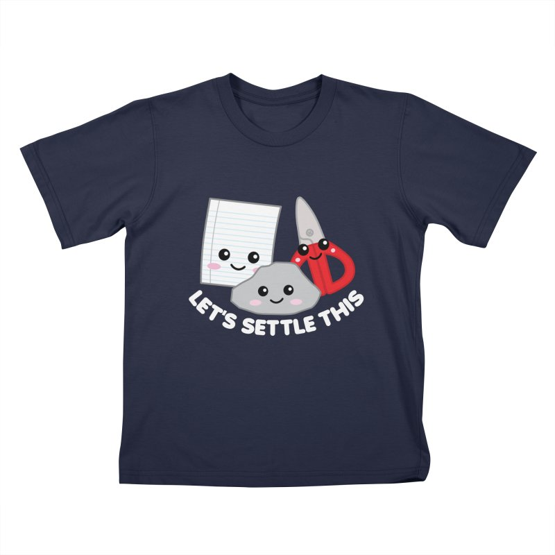 Let's Settle This Kids T-Shirt by Detour Shirt's Artist Shop