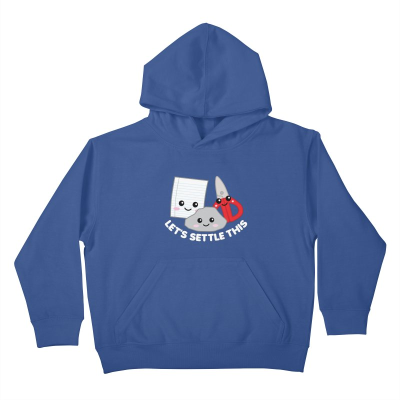 Let's Settle This Kids Pullover Hoody by Detour Shirt's Artist Shop