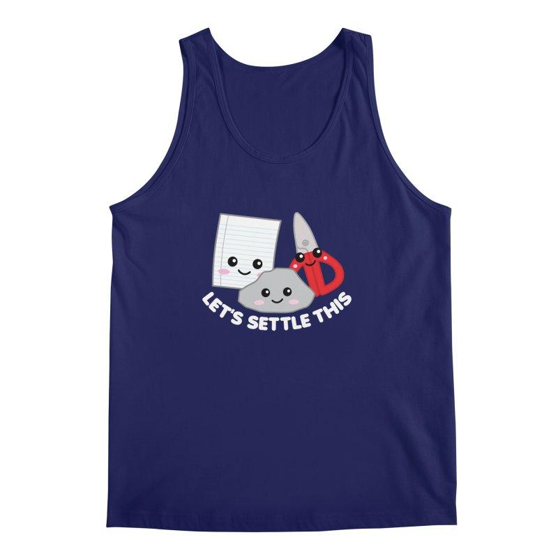 Let's Settle This Men's Regular Tank by Detour Shirt's Artist Shop