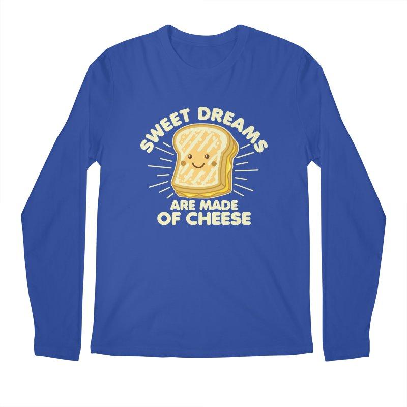 Sweet Dreams Are Made Of Cheese Men's Regular Longsleeve T-Shirt by Detour Shirt's Artist Shop
