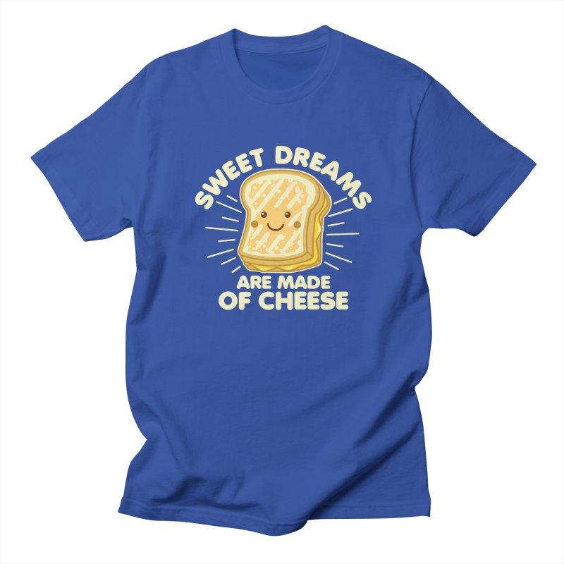Sweet Dreams Are Made Of Cheese Women's Regular Unisex T-Shirt by Detour Shirt's Artist Shop