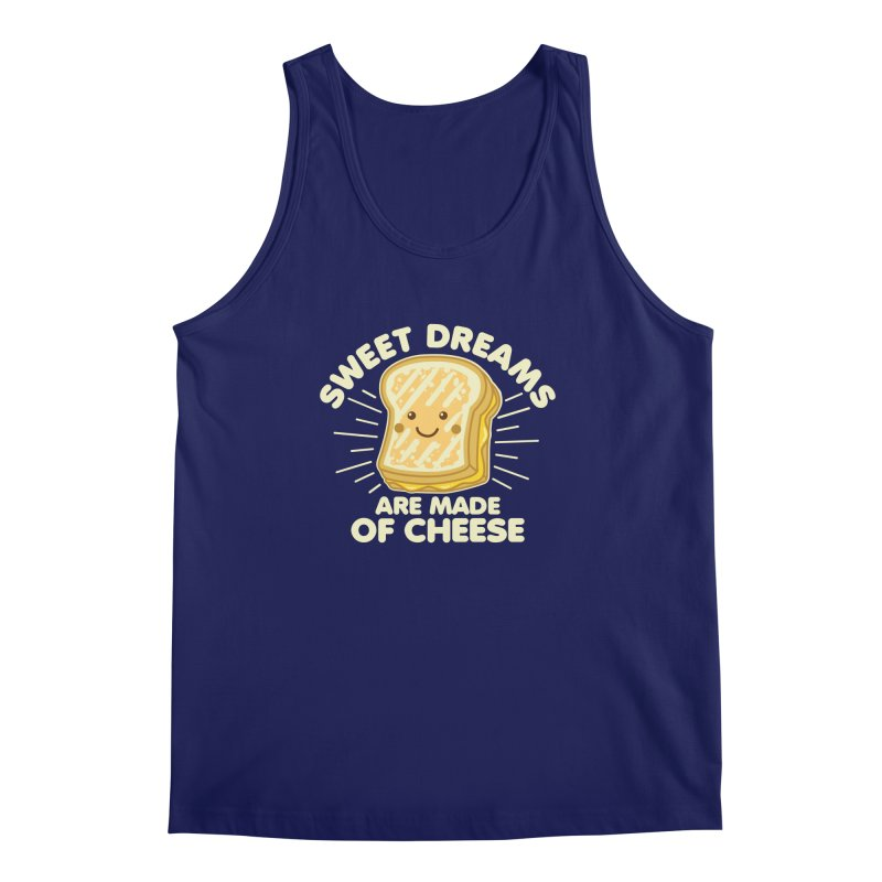 Sweet Dreams Are Made Of Cheese Men's Regular Tank by Detour Shirt's Artist Shop