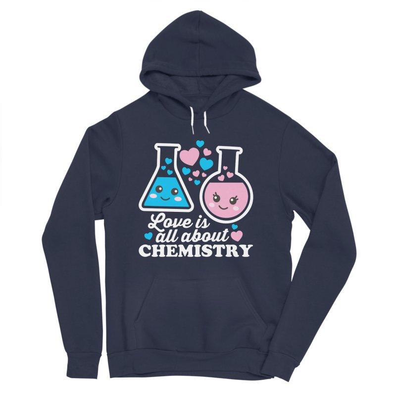 Love Is All About Chemistry Men's Sponge Fleece Pullover Hoody by Detour Shirt's Artist Shop