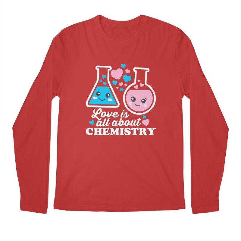 Love Is All About Chemistry Men's Regular Longsleeve T-Shirt by Detour Shirt's Artist Shop