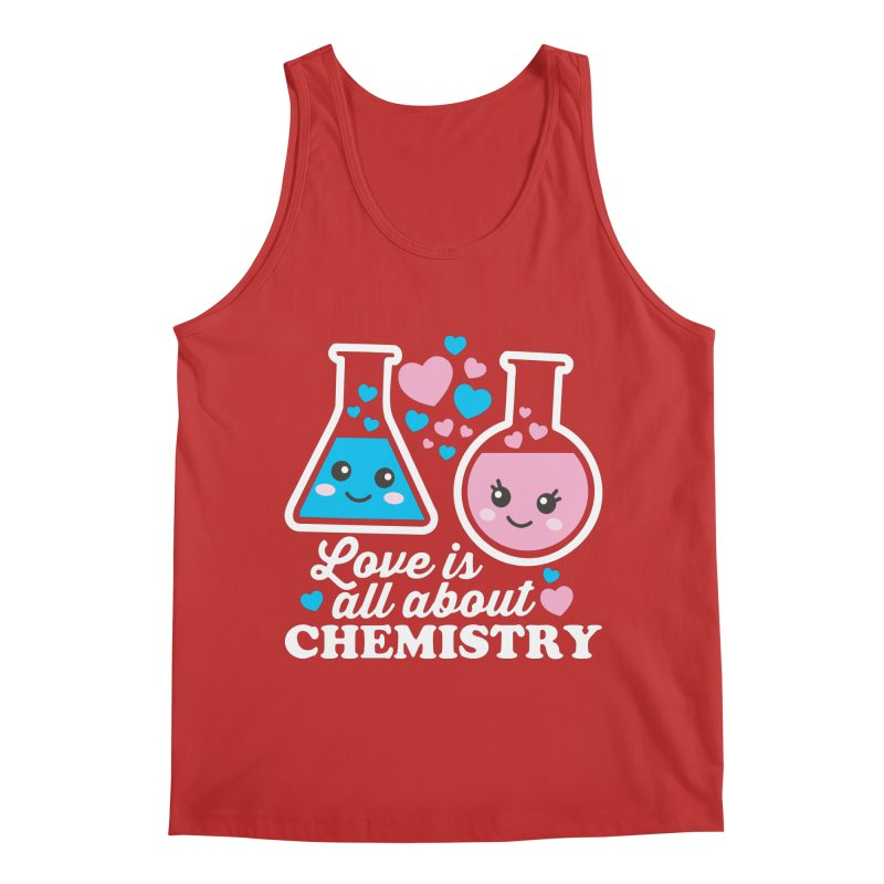 Love Is All About Chemistry Men's Regular Tank by Detour Shirt's Artist Shop