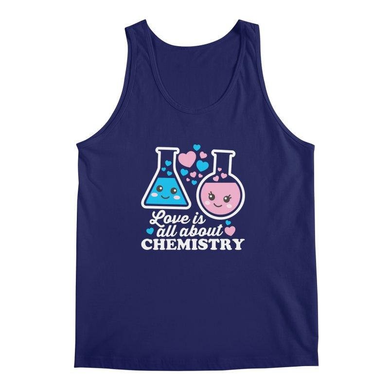 Love Is All About Chemistry Men's Regular Tank by Detour Shirt's Artist Shop