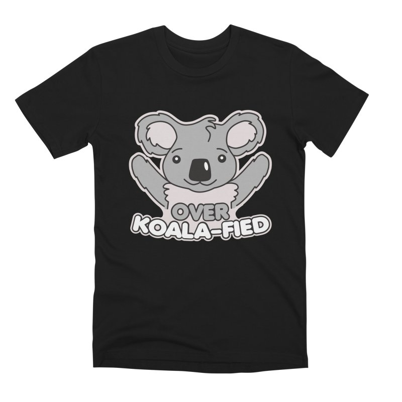 Over Koala-fied Men's Premium T-Shirt by Detour Shirt's Artist Shop