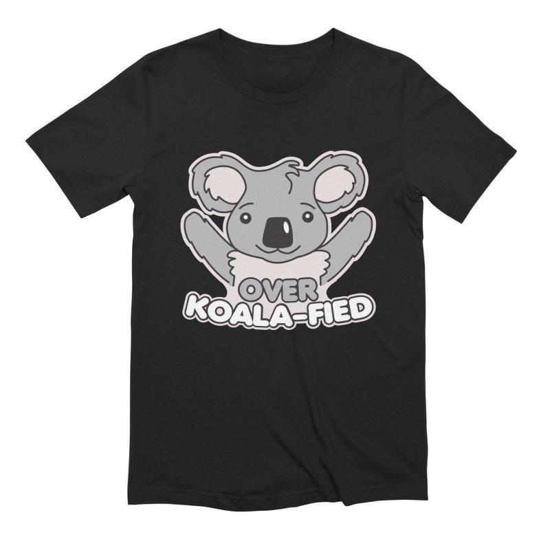 Over Koala-fied Men's Extra Soft T-Shirt by Detour Shirt's Artist Shop