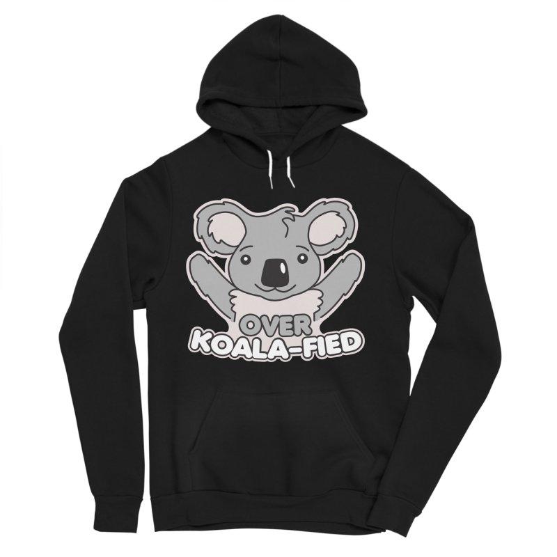 Over Koala-fied Women's Sponge Fleece Pullover Hoody by Detour Shirt's Artist Shop