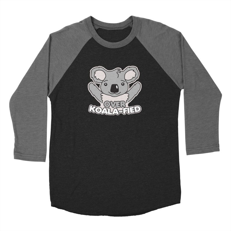 Over Koala-fied Women's Baseball Triblend Longsleeve T-Shirt by Detour Shirt's Artist Shop
