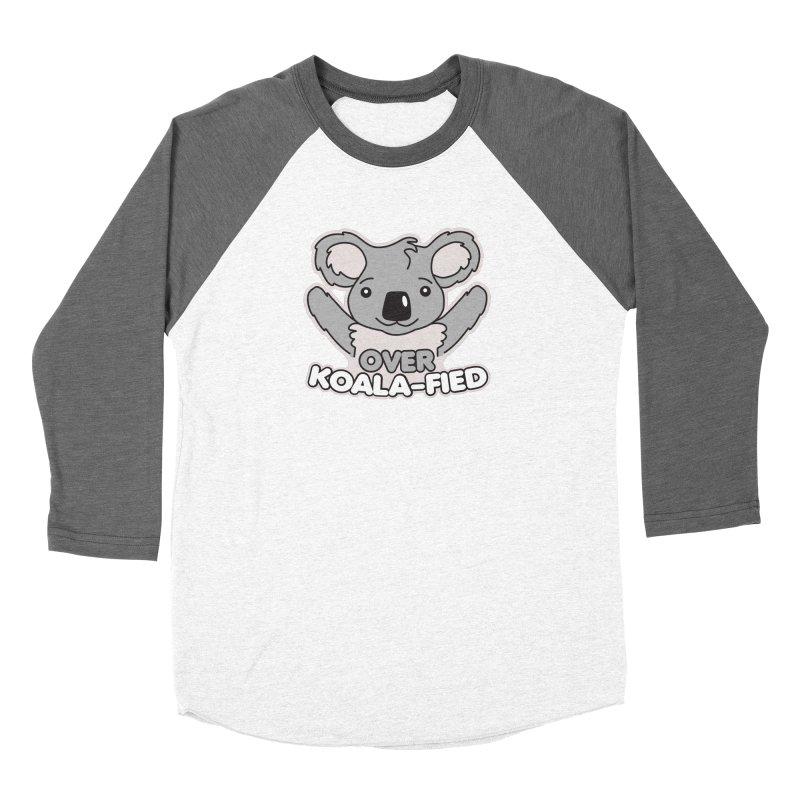 Over Koala-fied Men's Baseball Triblend Longsleeve T-Shirt by Detour Shirt's Artist Shop