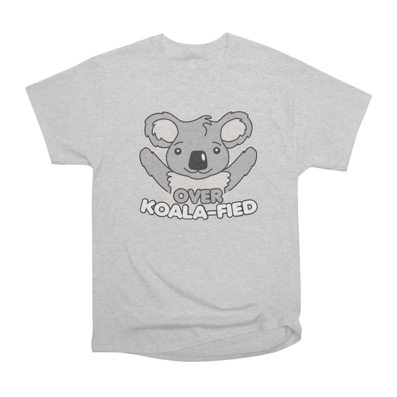 Over Koala-fied Men's Heavyweight T-Shirt by Detour Shirt's Artist Shop