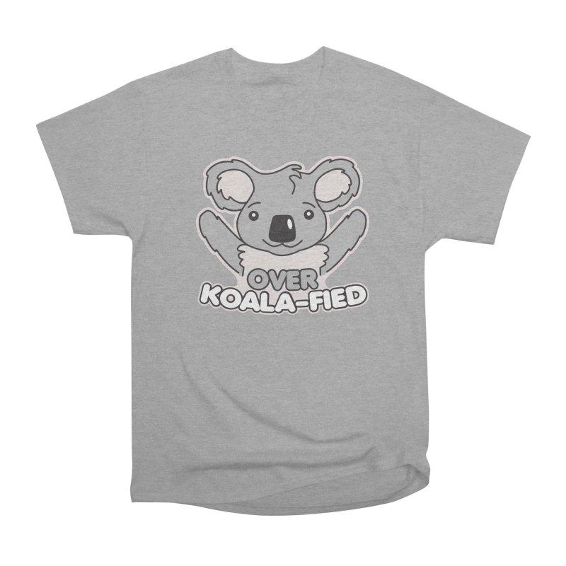 Over Koala-fied Men's Heavyweight T-Shirt by Detour Shirt's Artist Shop