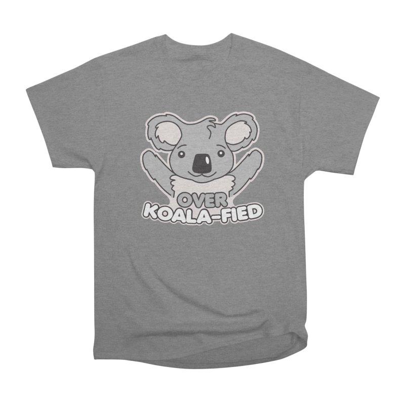 Over Koala-fied Women's Heavyweight Unisex T-Shirt by Detour Shirt's Artist Shop