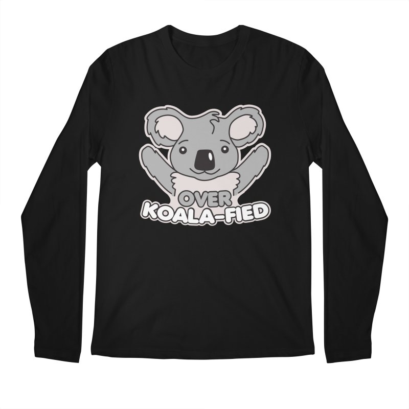 Over Koala-fied Men's Regular Longsleeve T-Shirt by Detour Shirt's Artist Shop