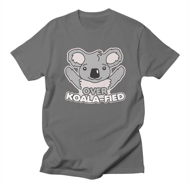 Over Koala-fied Men's T-Shirt by Detour Shirt's Artist Shop