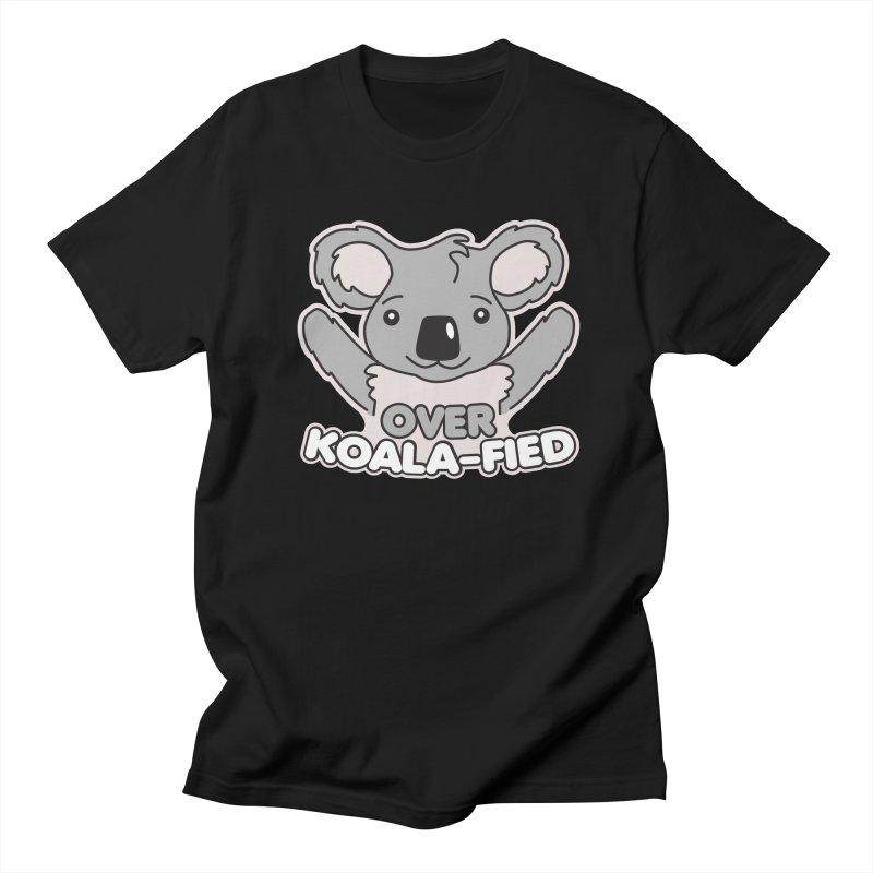 Over Koala-fied Women's Regular Unisex T-Shirt by Detour Shirt's Artist Shop