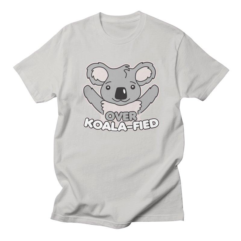 Over Koala-fied Men's Regular T-Shirt by Detour Shirt's Artist Shop