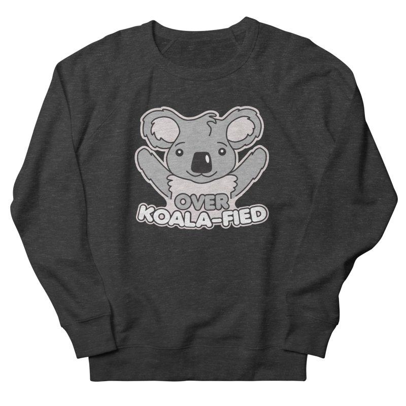 Over Koala-fied Men's French Terry Sweatshirt by Detour Shirt's Artist Shop