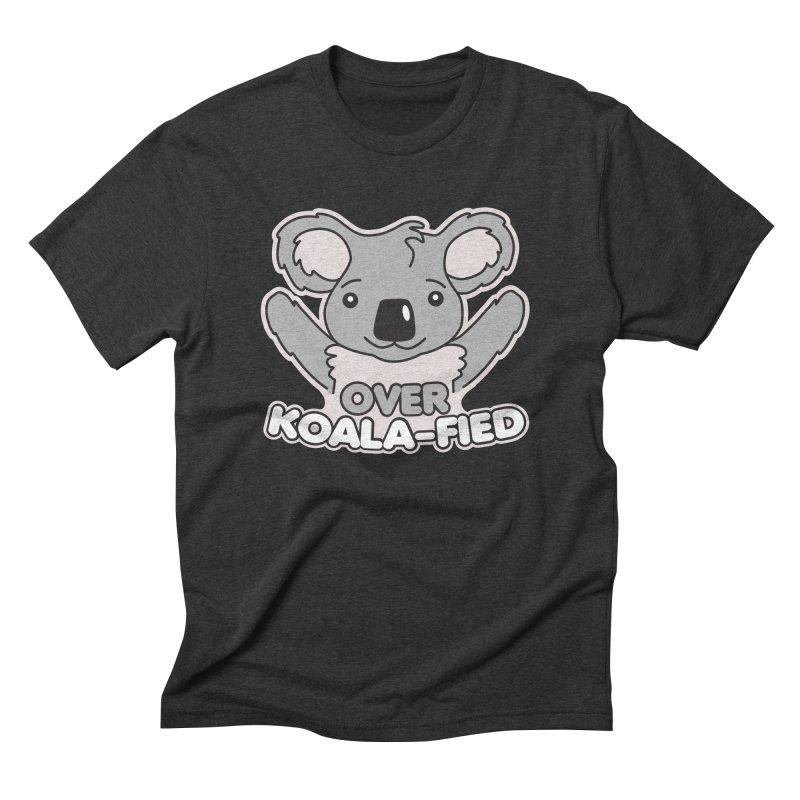 Over Koala-fied Men's Triblend T-Shirt by Detour Shirt's Artist Shop