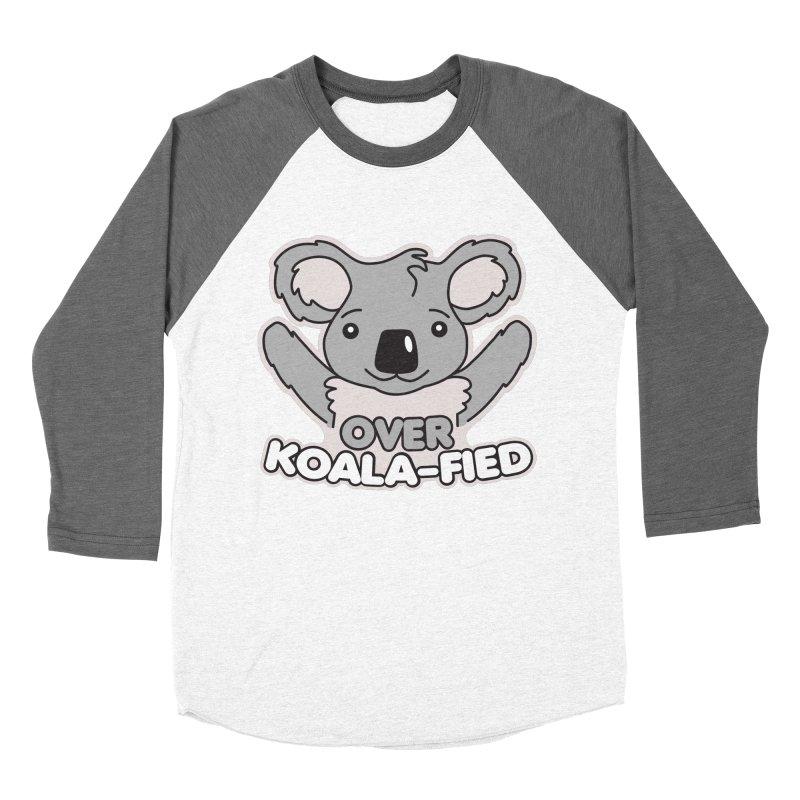 Over Koala-fied Women's Baseball Triblend Longsleeve T-Shirt by Detour Shirt's Artist Shop
