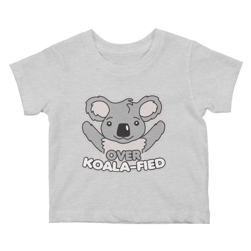 Over Koala-fied Kids Baby T-Shirt by Detour Shirt's Artist Shop