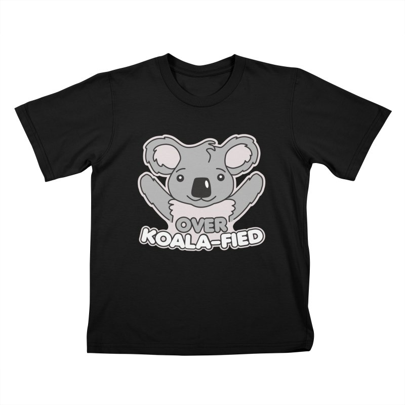Over Koala-fied Kids T-Shirt by Detour Shirt's Artist Shop