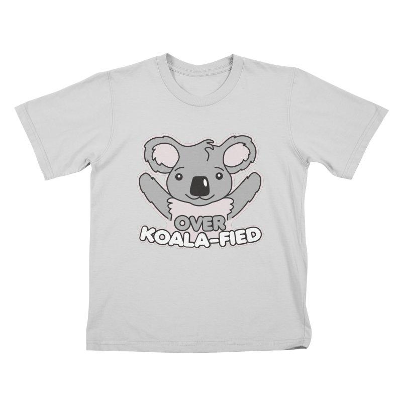 Over Koala-fied Kids T-Shirt by Detour Shirt's Artist Shop