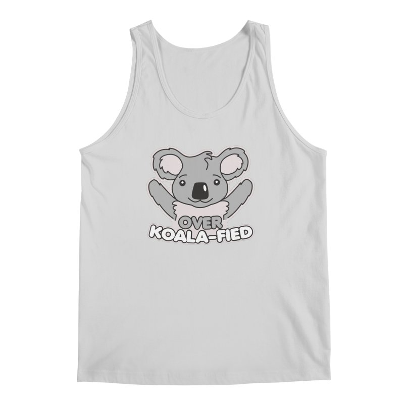 Over Koala-fied Men's Regular Tank by Detour Shirt's Artist Shop