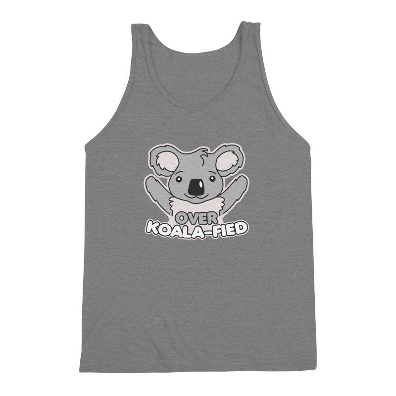 Over Koala-fied Men's Triblend Tank by Detour Shirt's Artist Shop