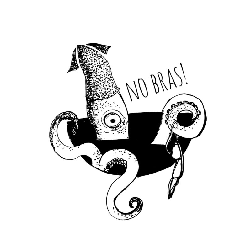 No Bras None  by detroitcatvomit's Artist Shop