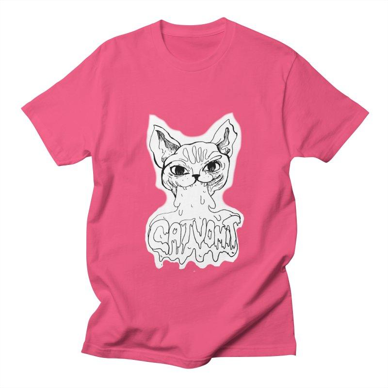 CatVomit Women's Unisex T-Shirt by detroitcatvomit's Artist Shop