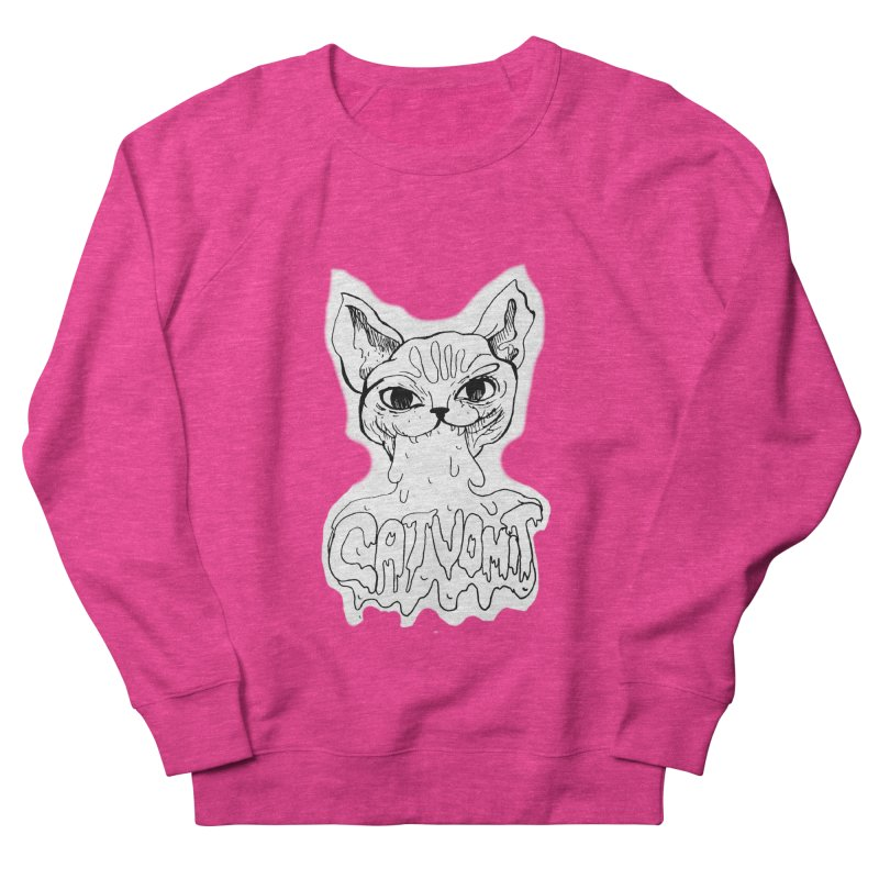 CatVomit Women's Sweatshirt by detroitcatvomit's Artist Shop