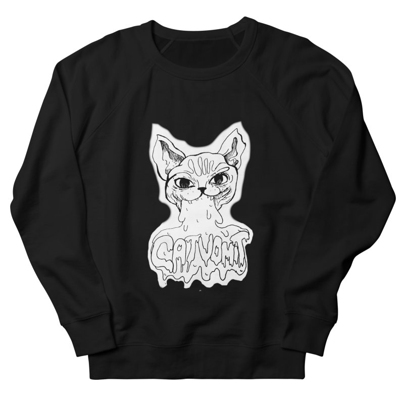 CatVomit Women's French Terry Sweatshirt by detroitcatvomit's Artist Shop