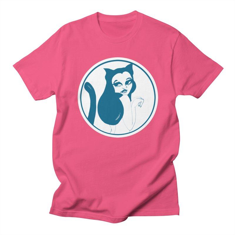 CatVomit Logo Men's Regular T-Shirt by detroitcatvomit's Artist Shop