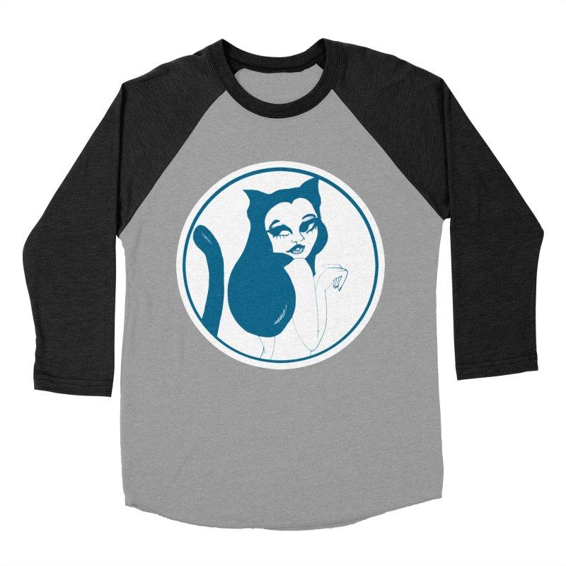 CatVomit Logo Women's Baseball Triblend Longsleeve T-Shirt by detroitcatvomit's Artist Shop