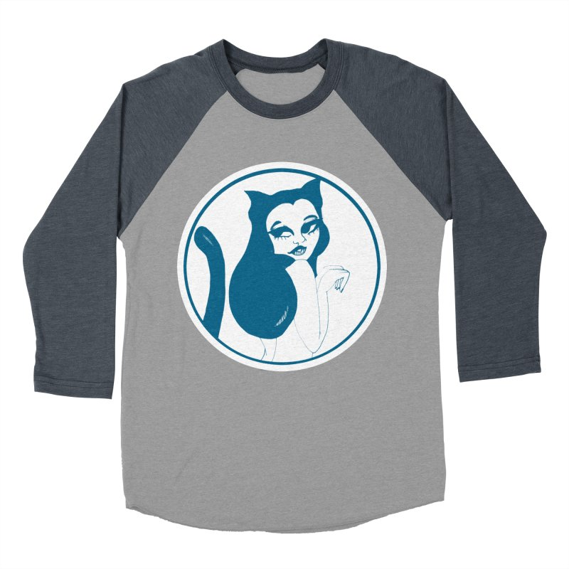 CatVomit Logo Men's Baseball Triblend Longsleeve T-Shirt by detroitcatvomit's Artist Shop