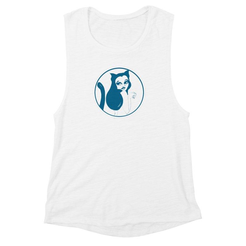 CatVomit Logo Women's Muscle Tank by detroitcatvomit's Artist Shop