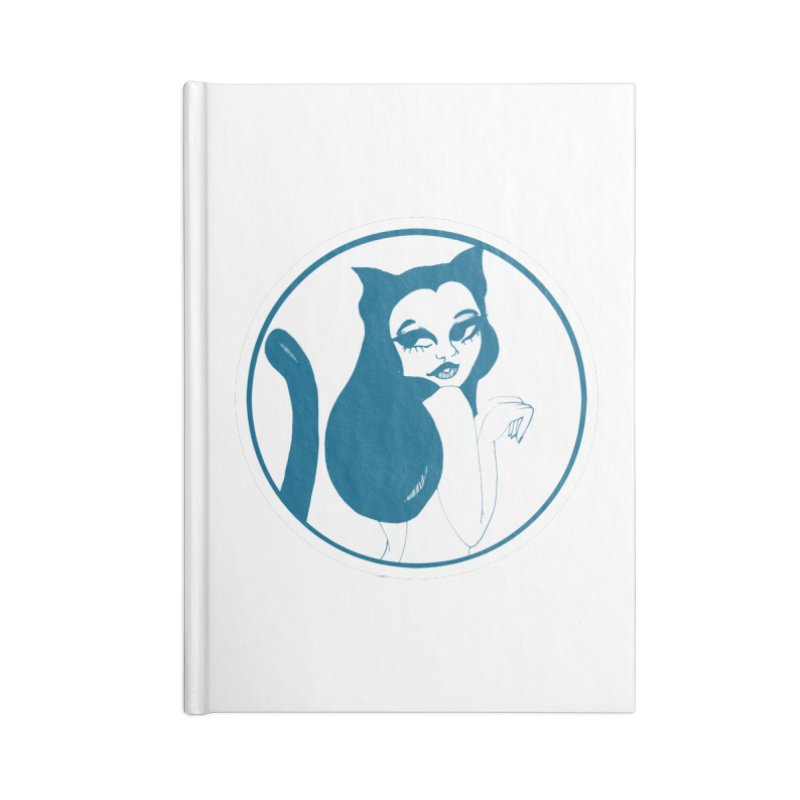 CatVomit Logo Accessories Notebook by detroitcatvomit's Artist Shop