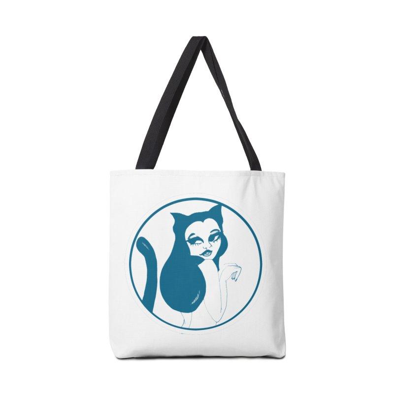CatVomit Logo Accessories Bag by detroitcatvomit's Artist Shop