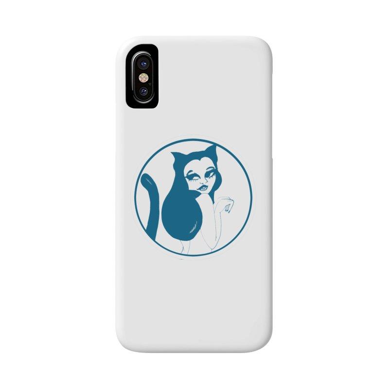CatVomit Logo Accessories Phone Case by detroitcatvomit's Artist Shop