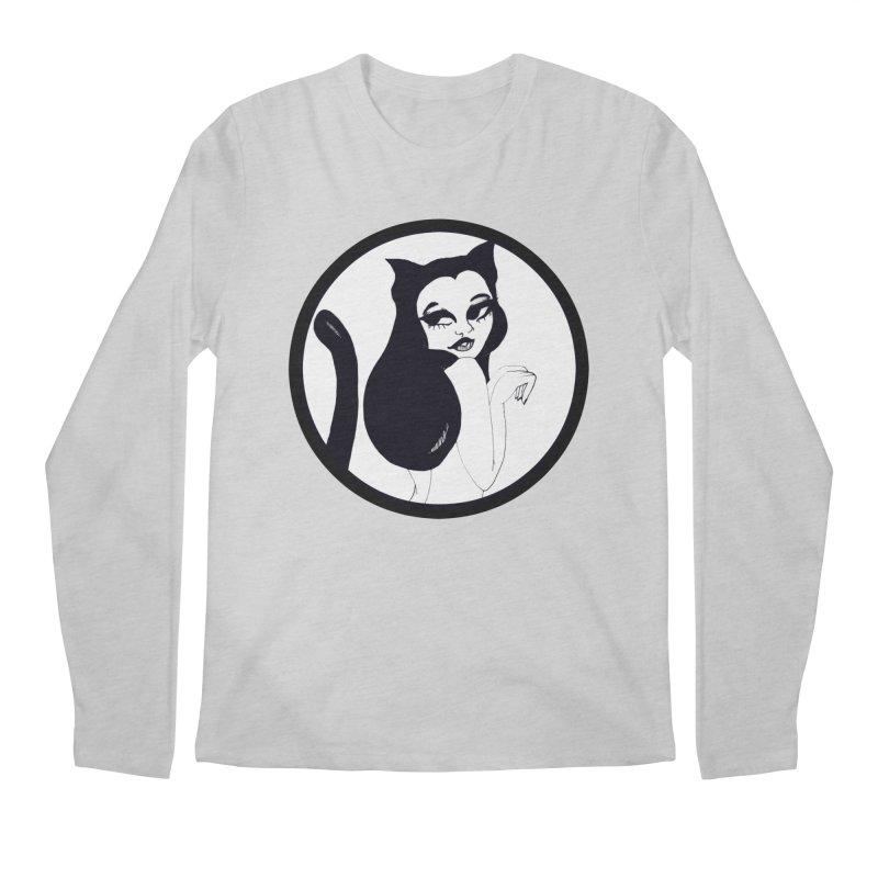 Traditional Logo Men's Regular Longsleeve T-Shirt by detroitcatvomit's Artist Shop