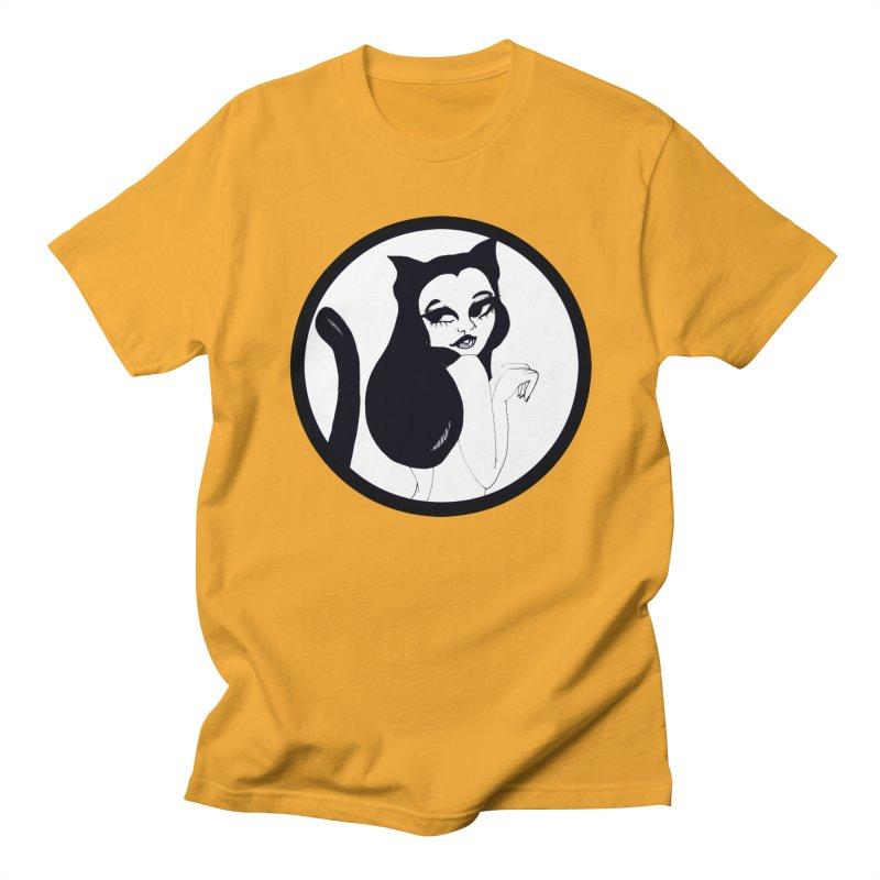 Traditional Logo Men's T-Shirt by detroitcatvomit's Artist Shop