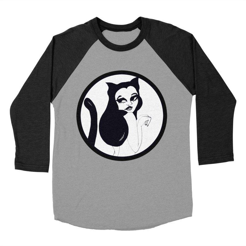 Traditional Logo Women's Baseball Triblend T-Shirt by detroitcatvomit's Artist Shop