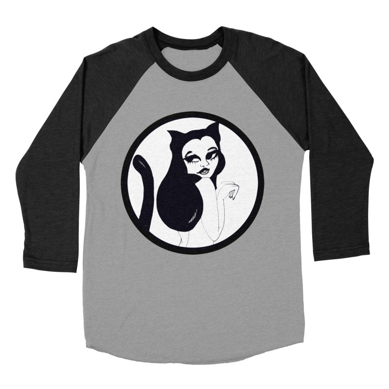Traditional Logo Men's Baseball Triblend T-Shirt by detroitcatvomit's Artist Shop
