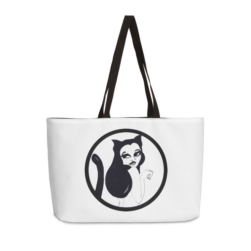 Traditional Logo Accessories Weekender Bag Bag by detroitcatvomit's Artist Shop