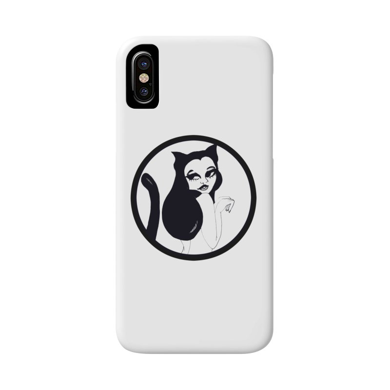 Traditional Logo Accessories Phone Case by detroitcatvomit's Artist Shop