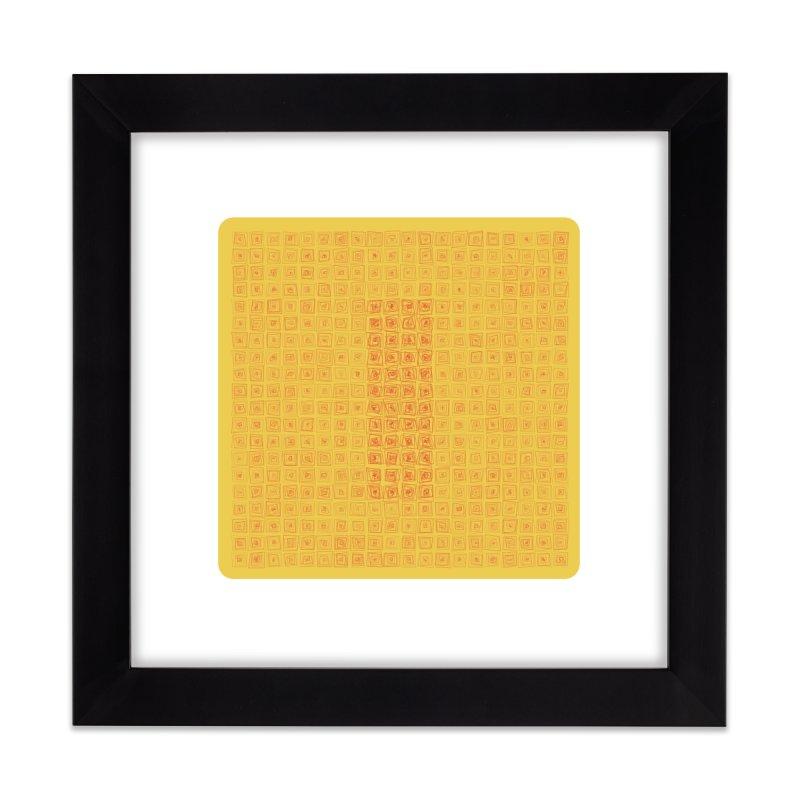 A-Z OF ANTIDEPRESSANTS: IMIPRAMINE Home Framed Fine Art Print by Shop   Devang Thakkar