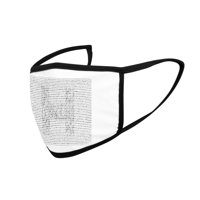 A-Z OF ANTIDEPRESSANTS: HALOPERIDOL Accessories Face Mask by Shop | Devang Thakkar